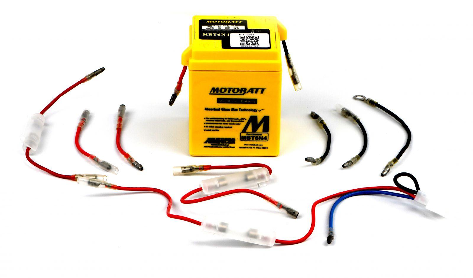 Motobatt Batteries - 500040MY image