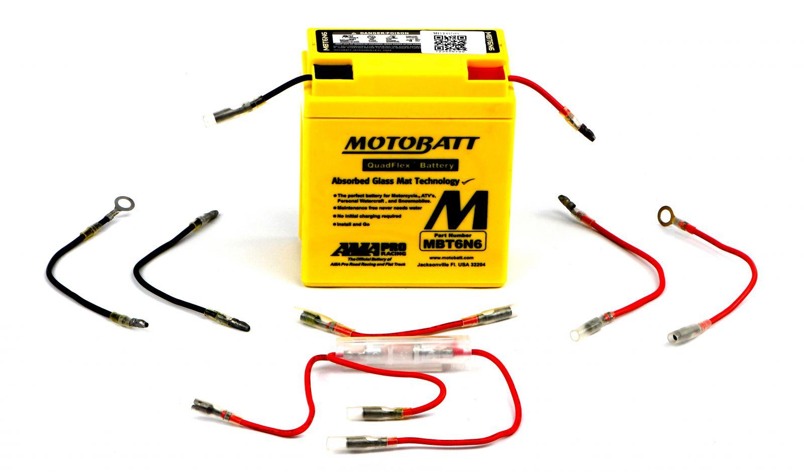 Motobatt Batteries - 500060MY image