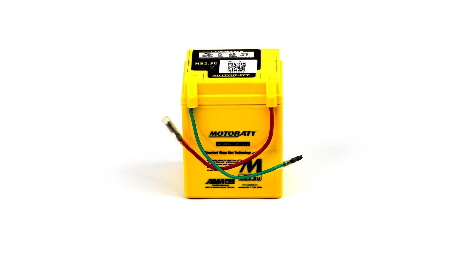 Motobatt Batteries - 501025MY image