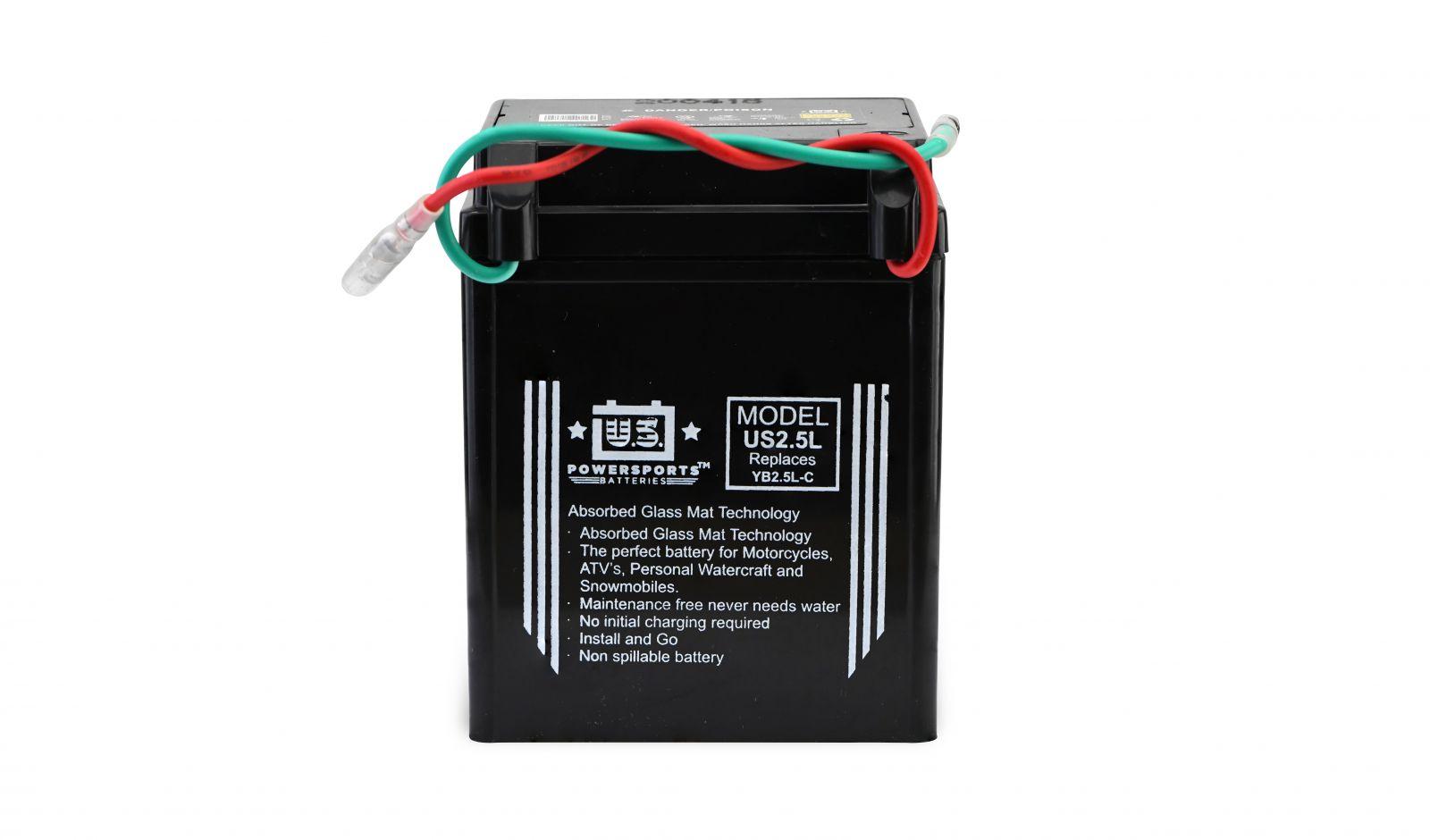 us powersports sealed battery - 501025U image