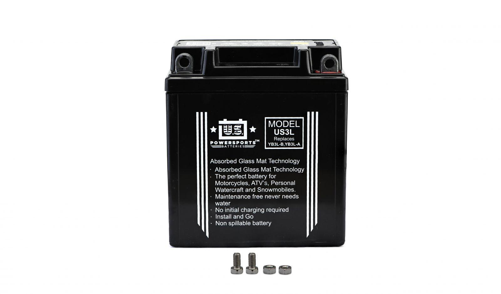 us powersports sealed battery - 501030U image