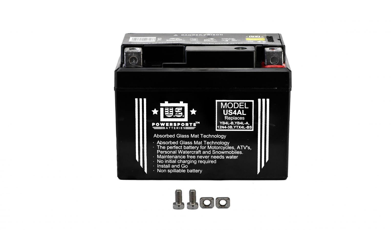 us powersports sealed battery - 501045U image