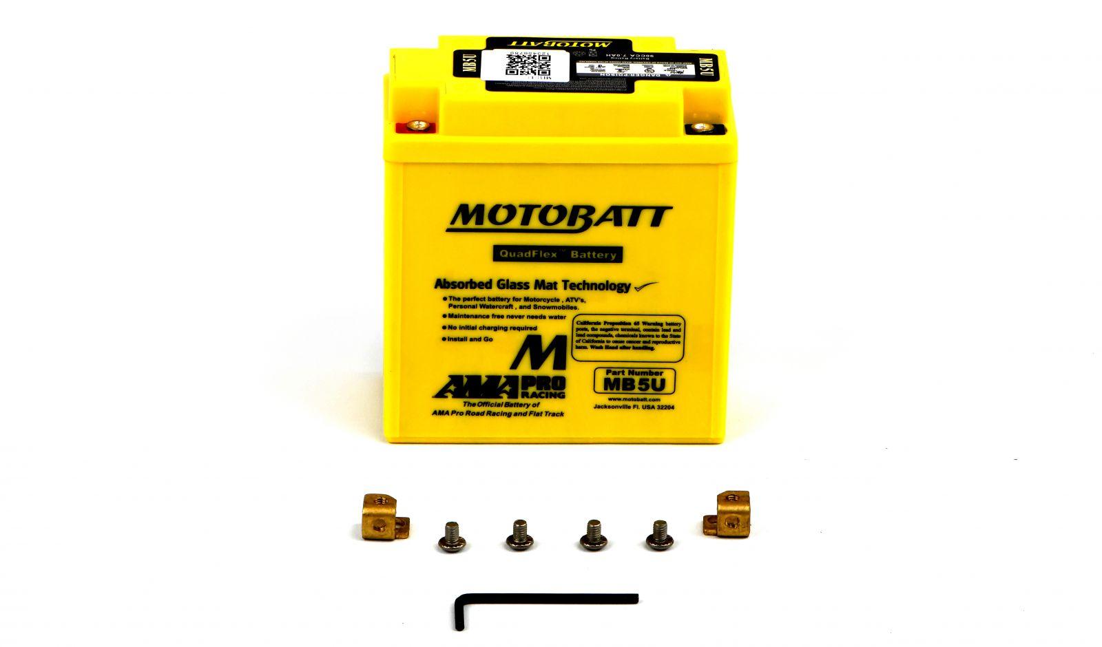 Motobatt Batteries - 501051MY image