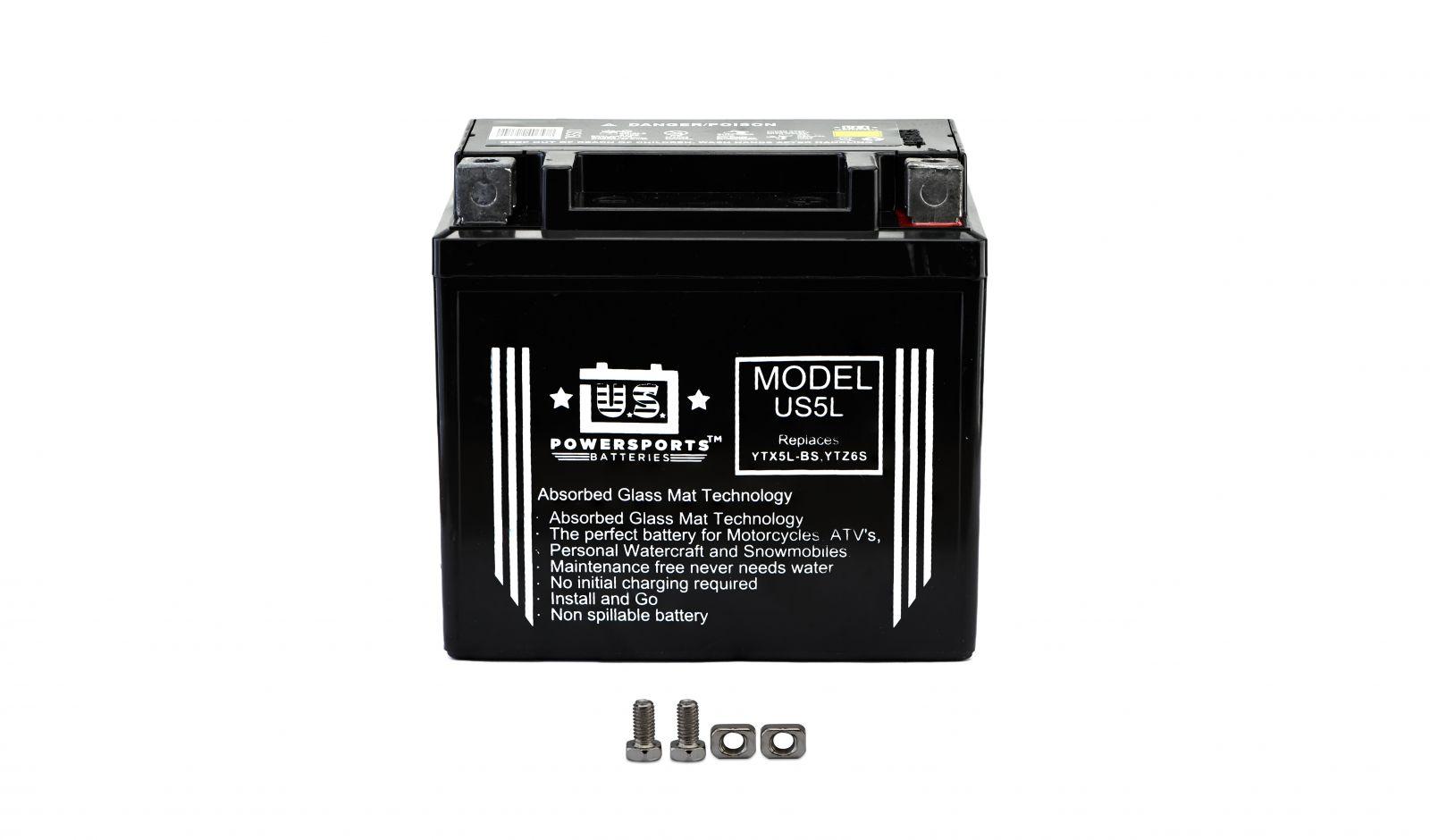 us powersports sealed battery - 501055U image