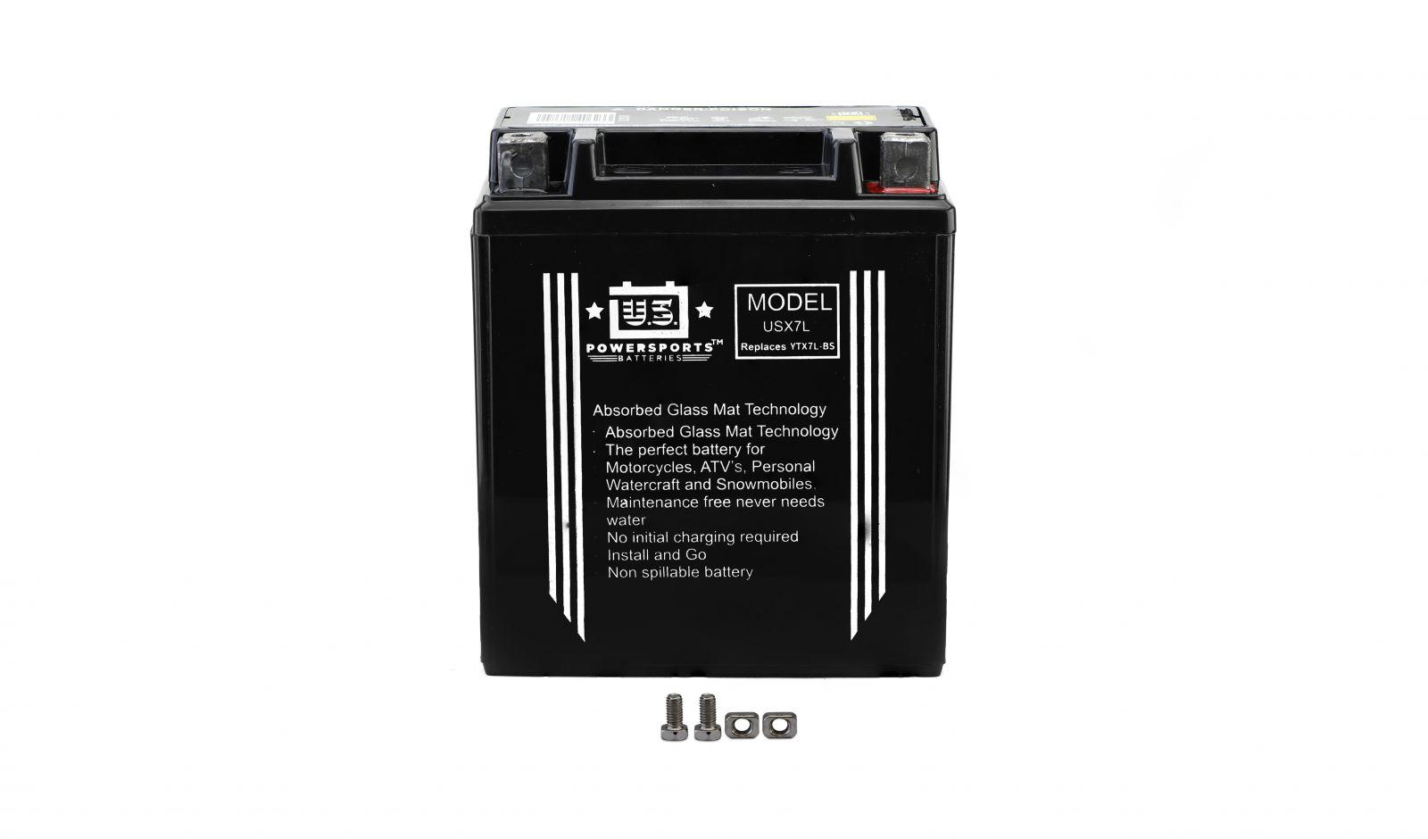 us powersports sealed battery - 501075U image