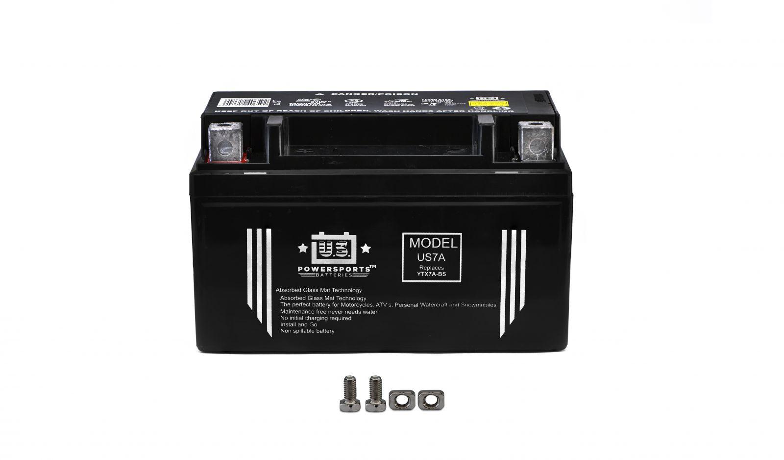 us powersports sealed battery - 501077U image