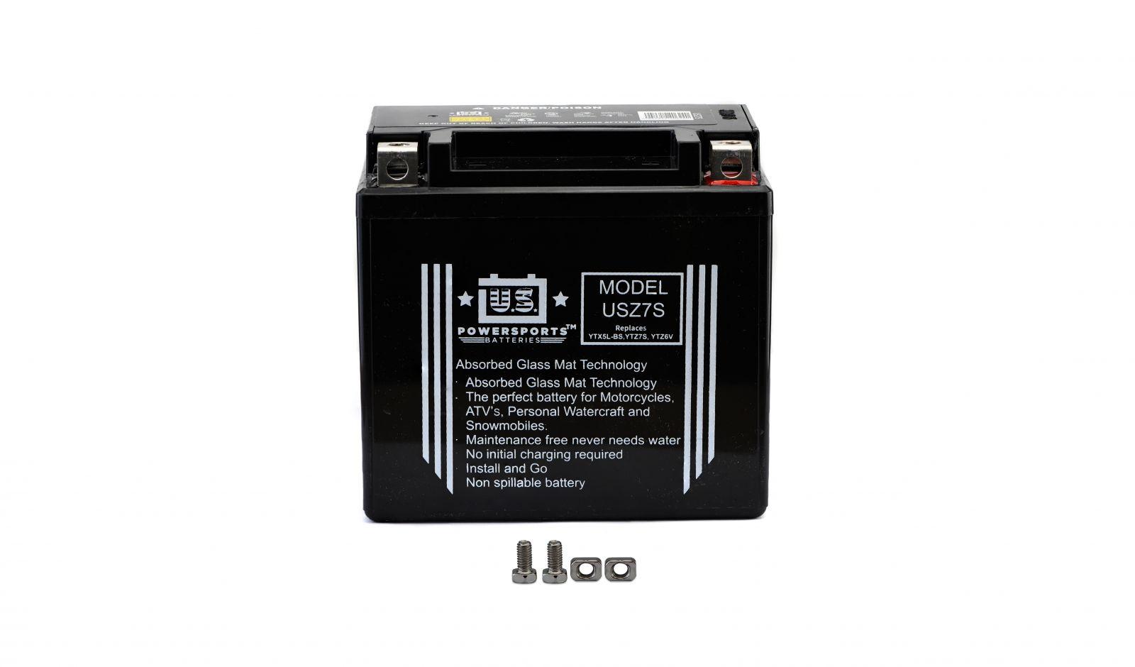 us powersports sealed battery - 501079U image