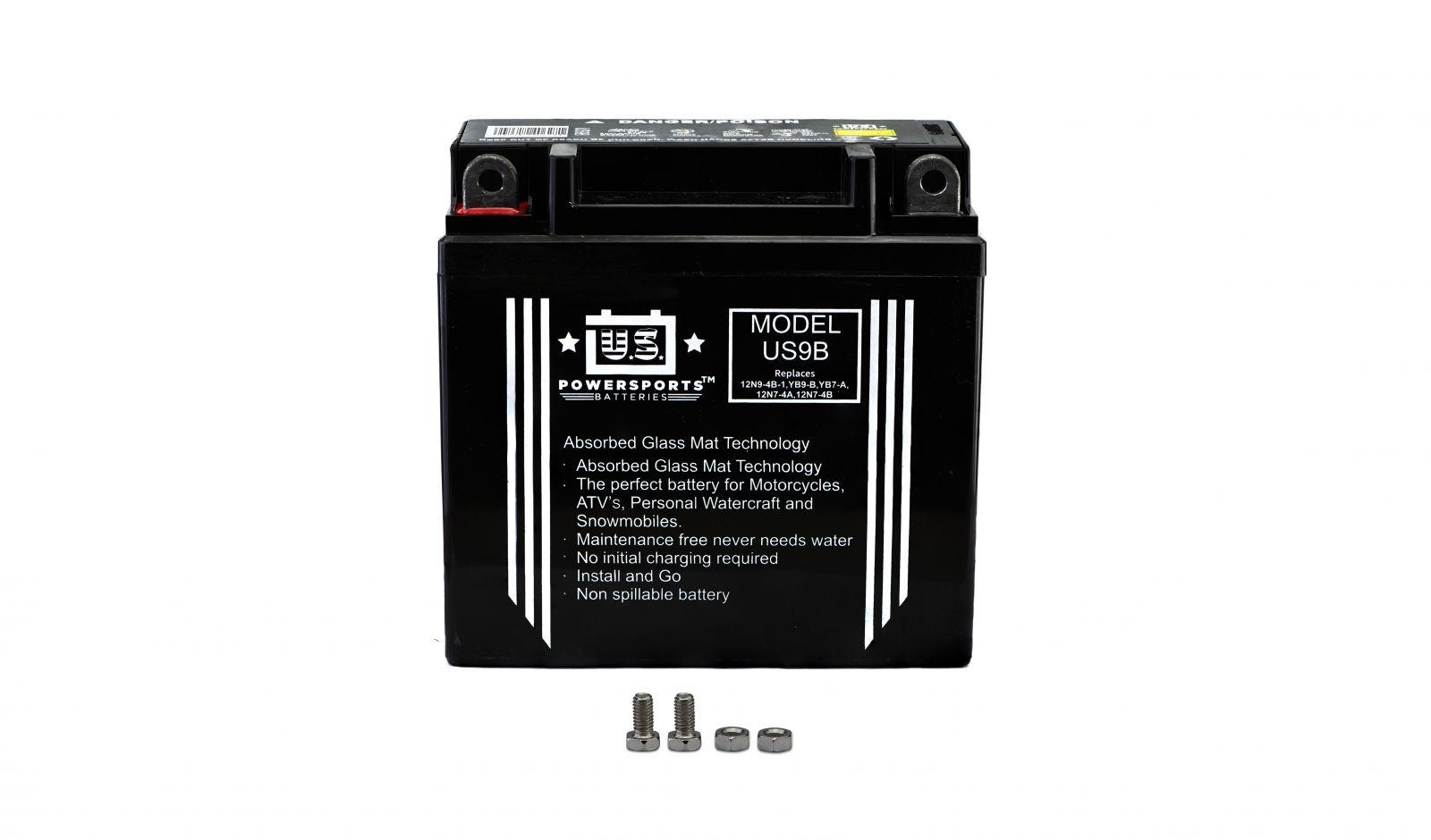 Us Powersports Sealed Battery - 501090U image