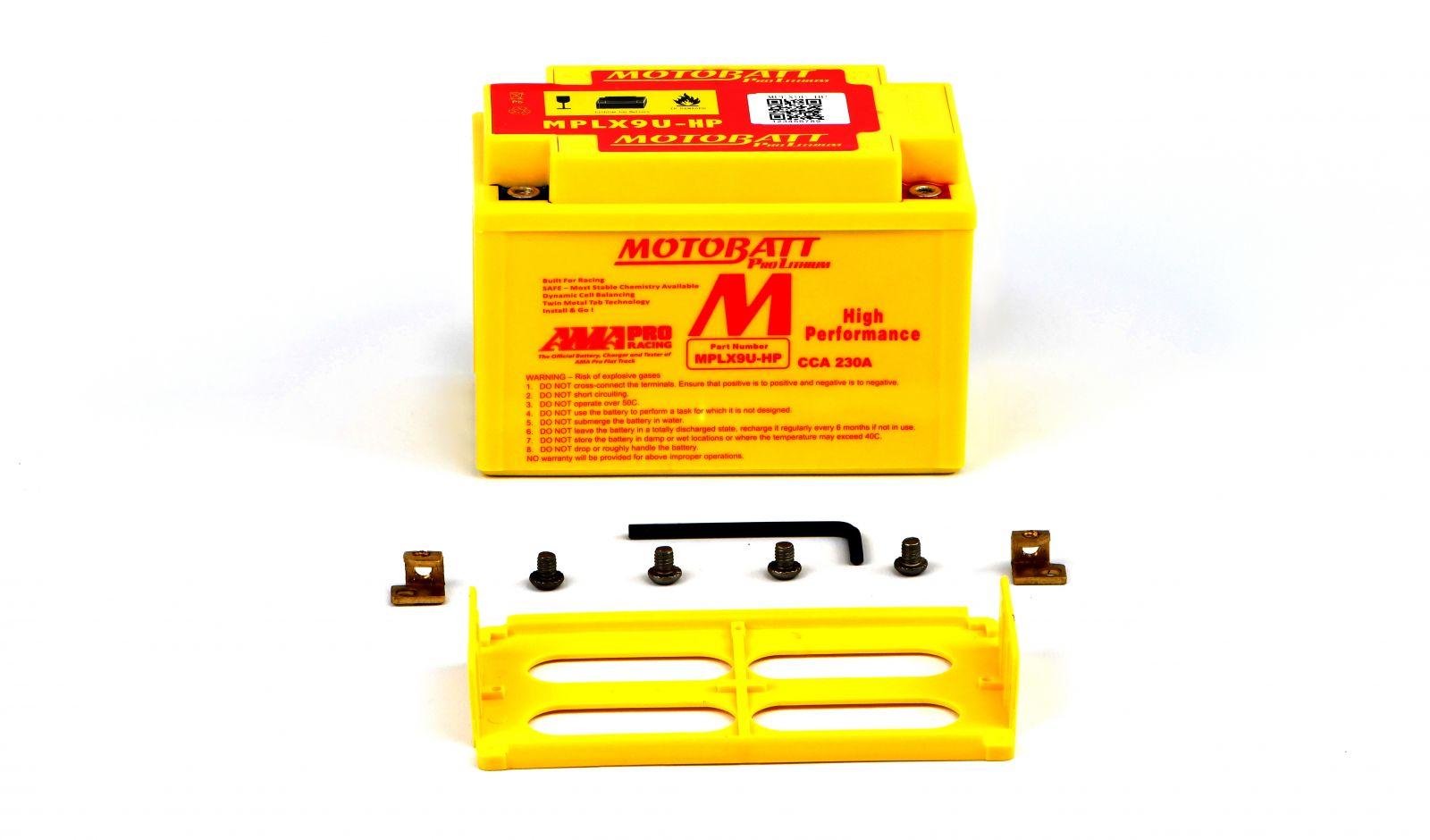 Motobatt Lithium Batteries - 501095MR image