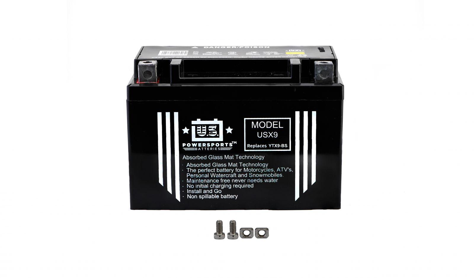 us powersports sealed battery - 501095U image