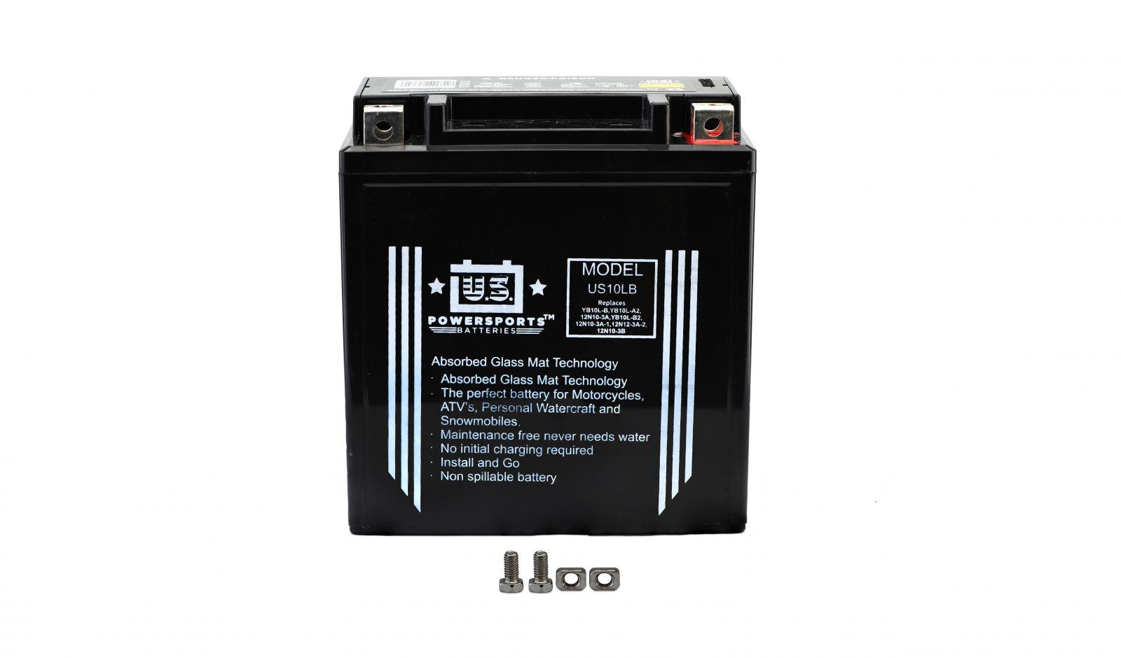 Us Powersports Sealed Battery - 501102U image