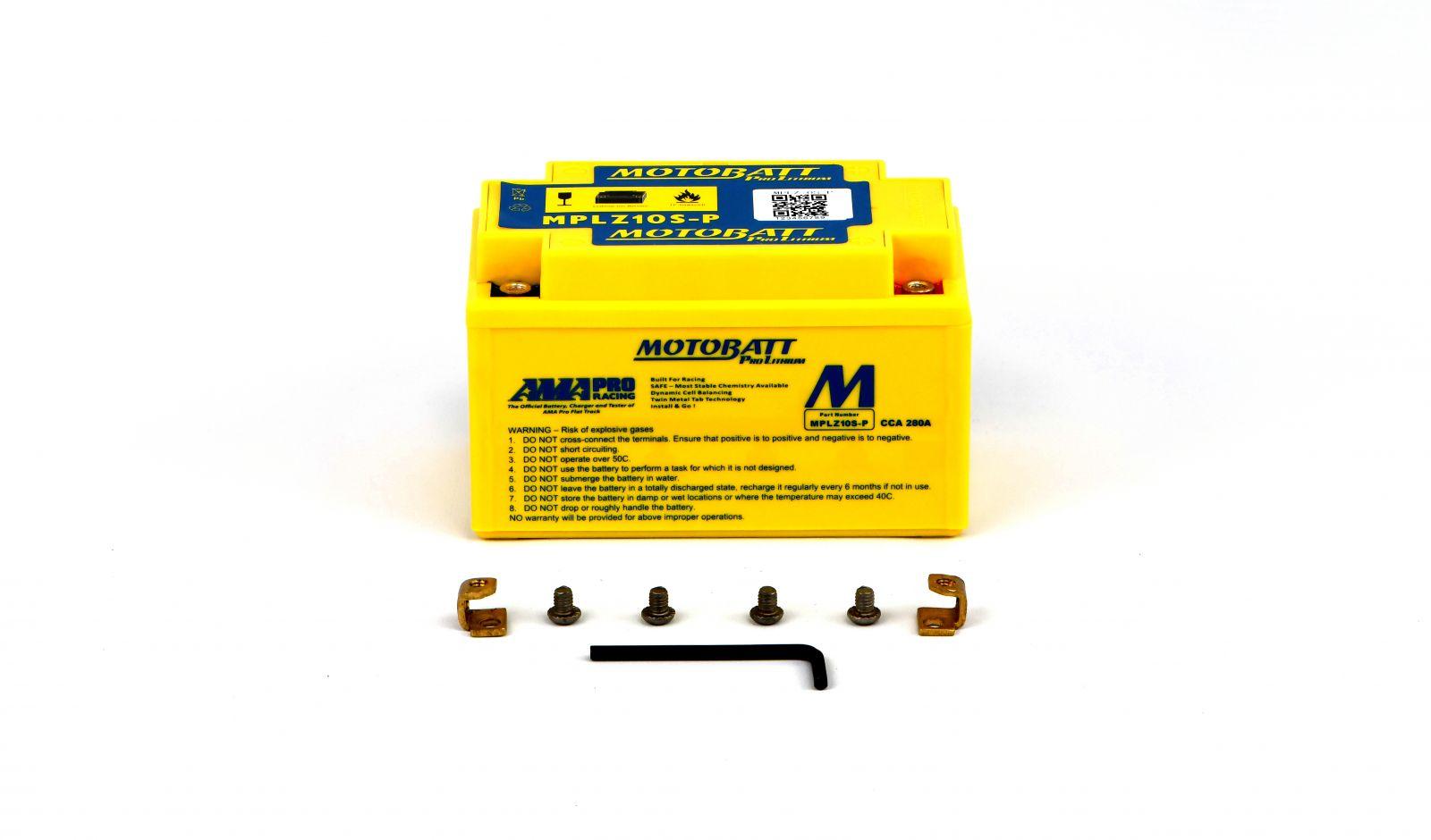 Motobatt Lithium Batteries - 501107ML image