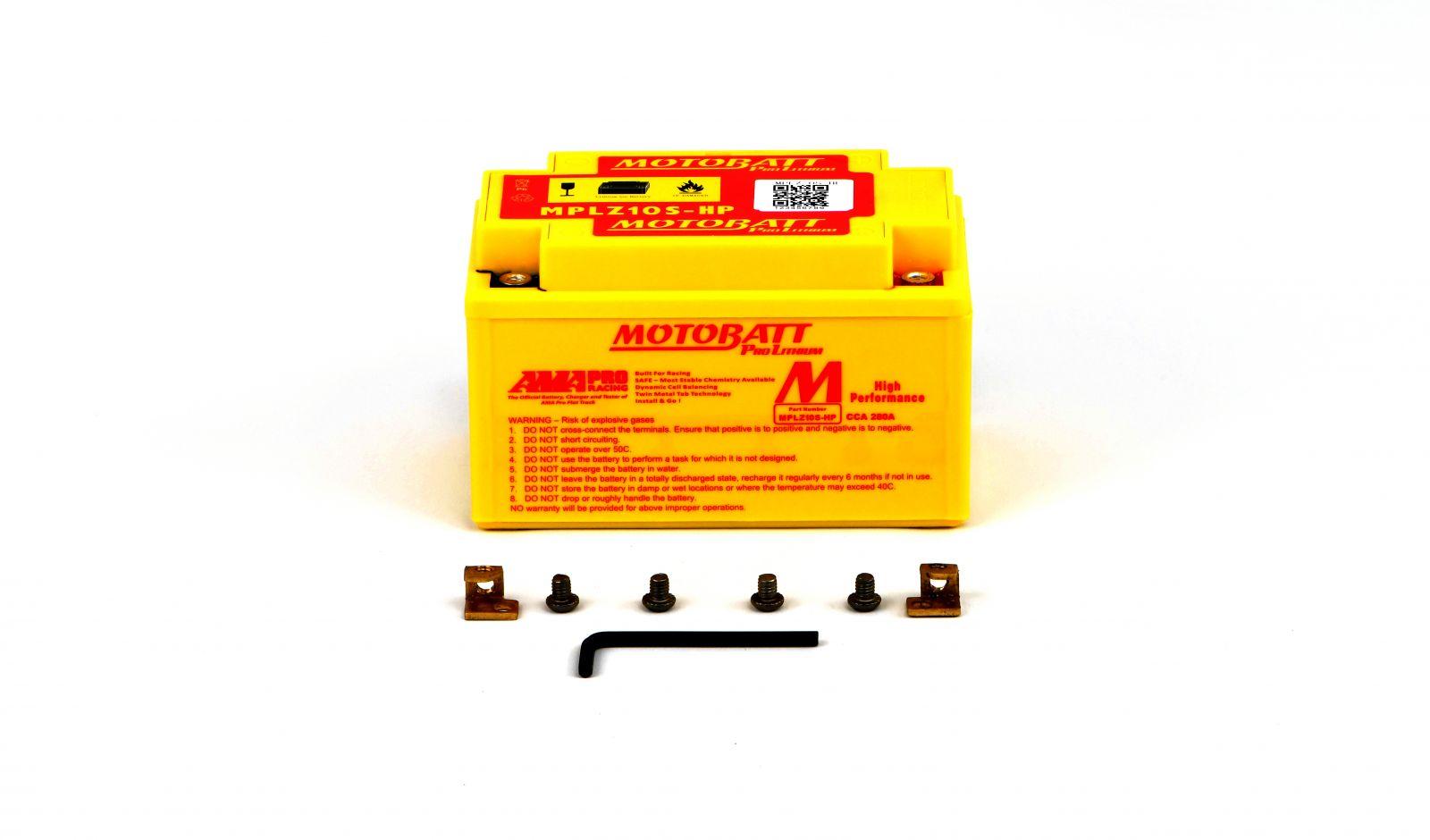 Motobatt Lithium Batteries - 501107MR image