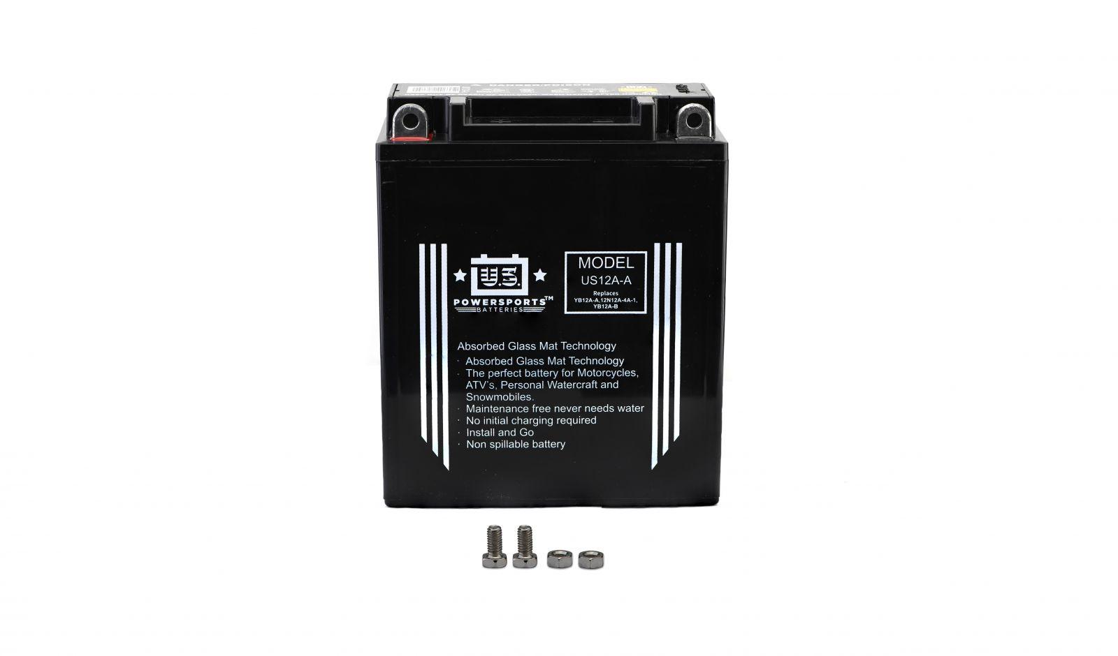 Us Powersports Sealed Battery - 501120U image