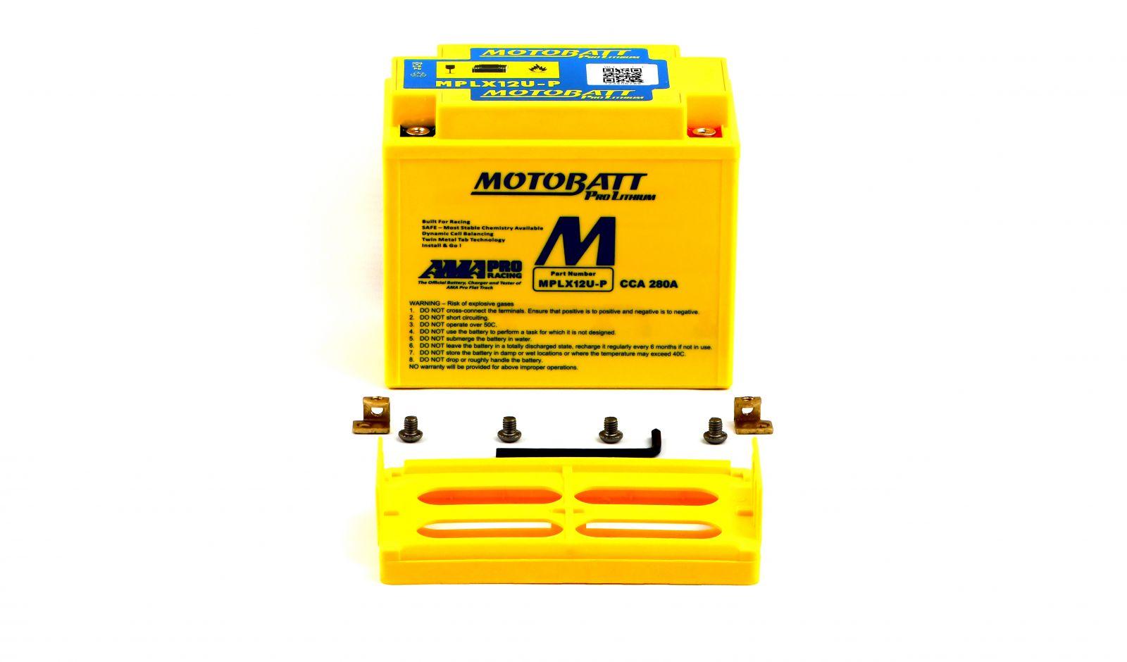 Motobatt Lithium Batteries - 501125ML image