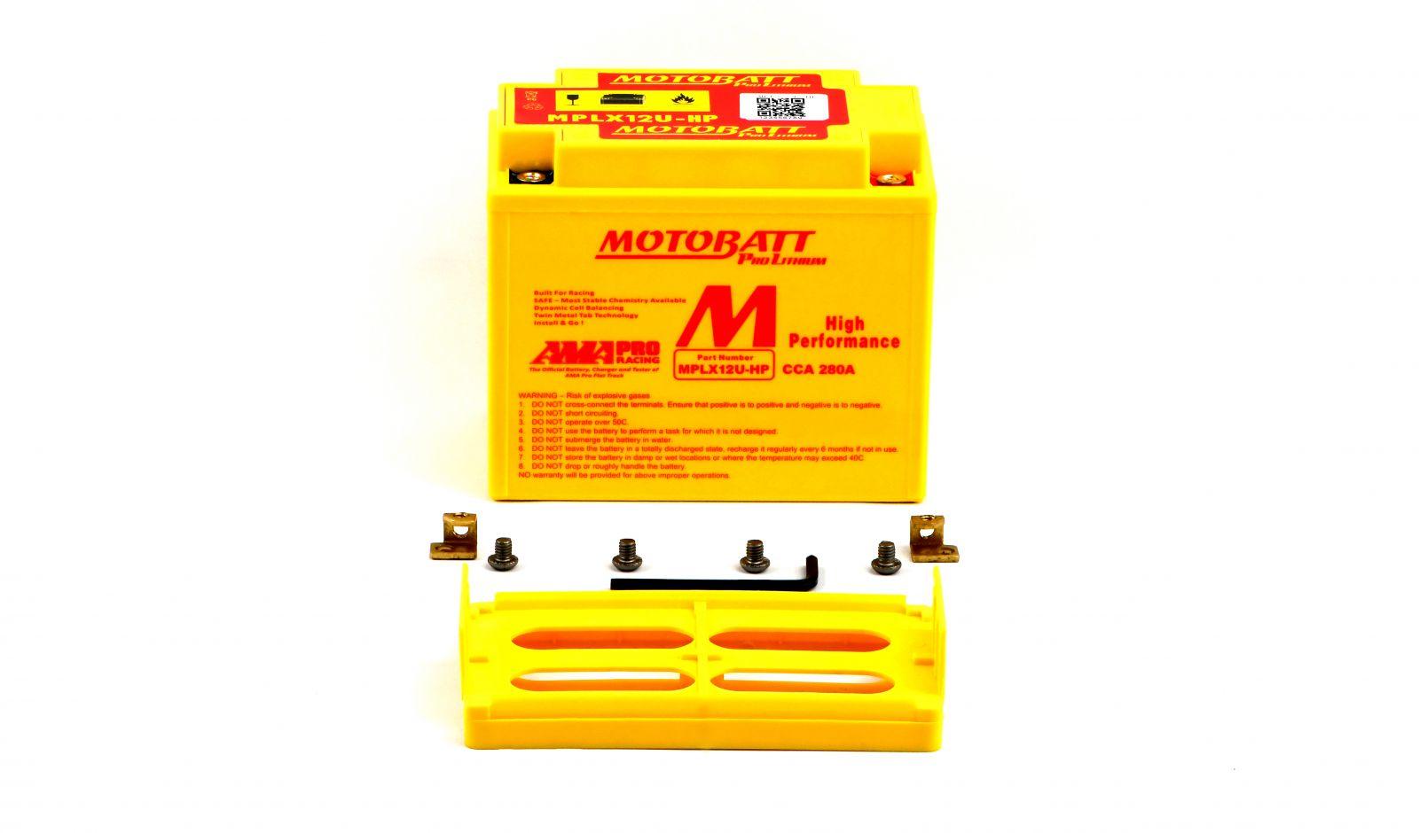motobatt lithium batteries - 501125MR image