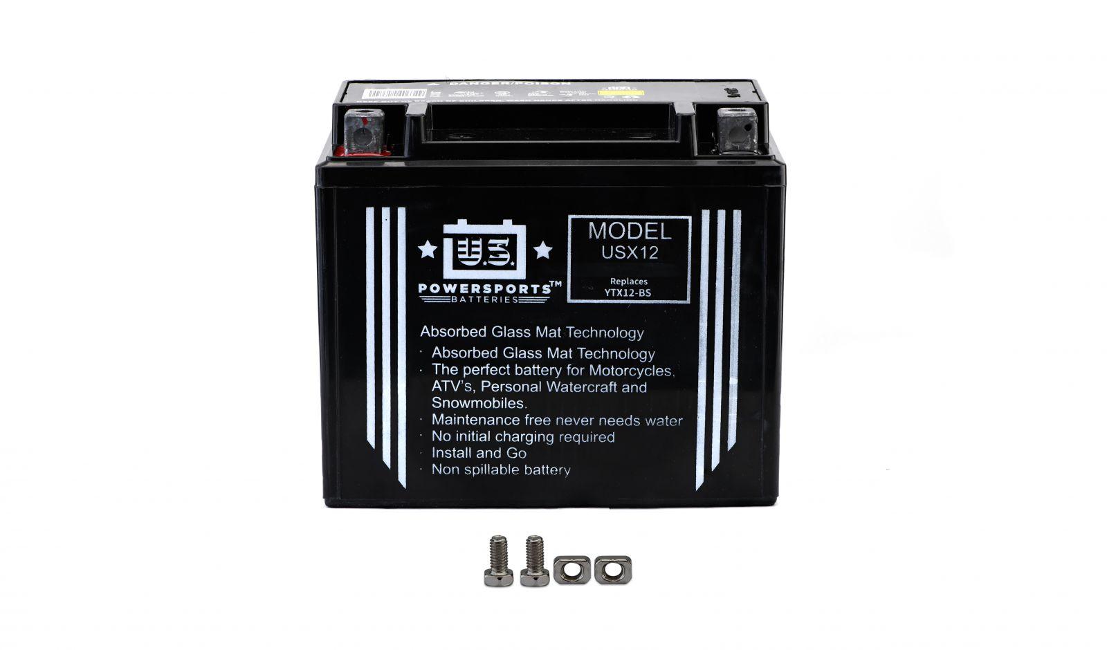 Us Powersports Sealed Battery - 501125U image