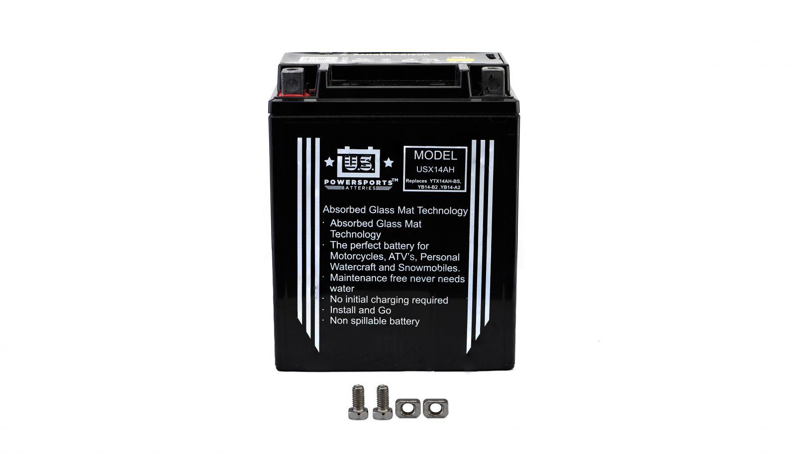 Us Powersports Sealed Battery - 501140U image