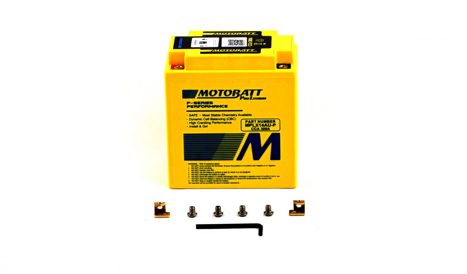 Motobatt Lithium Batteries - 501142ML image
