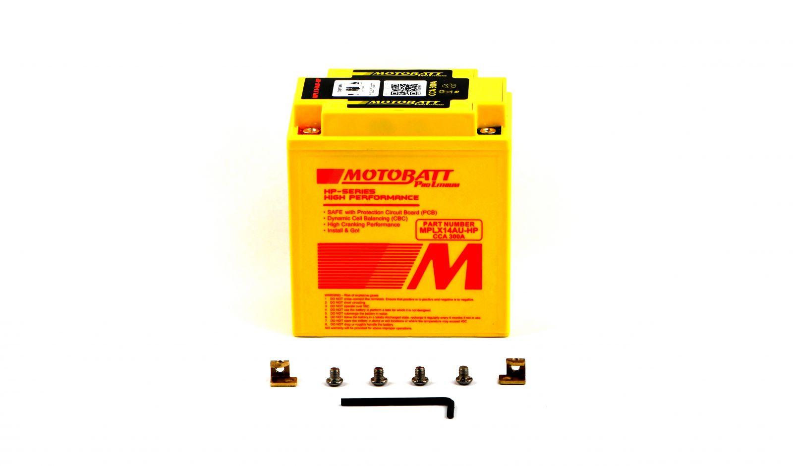 Motobatt Lithium Batteries - 501142MR image