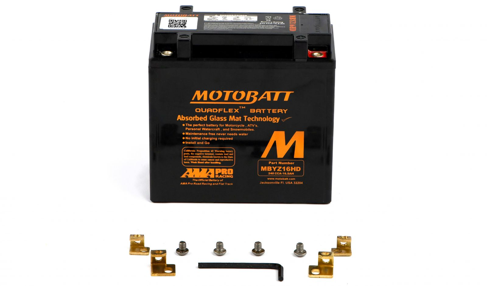 Motobatt Batteries - 501145MB image