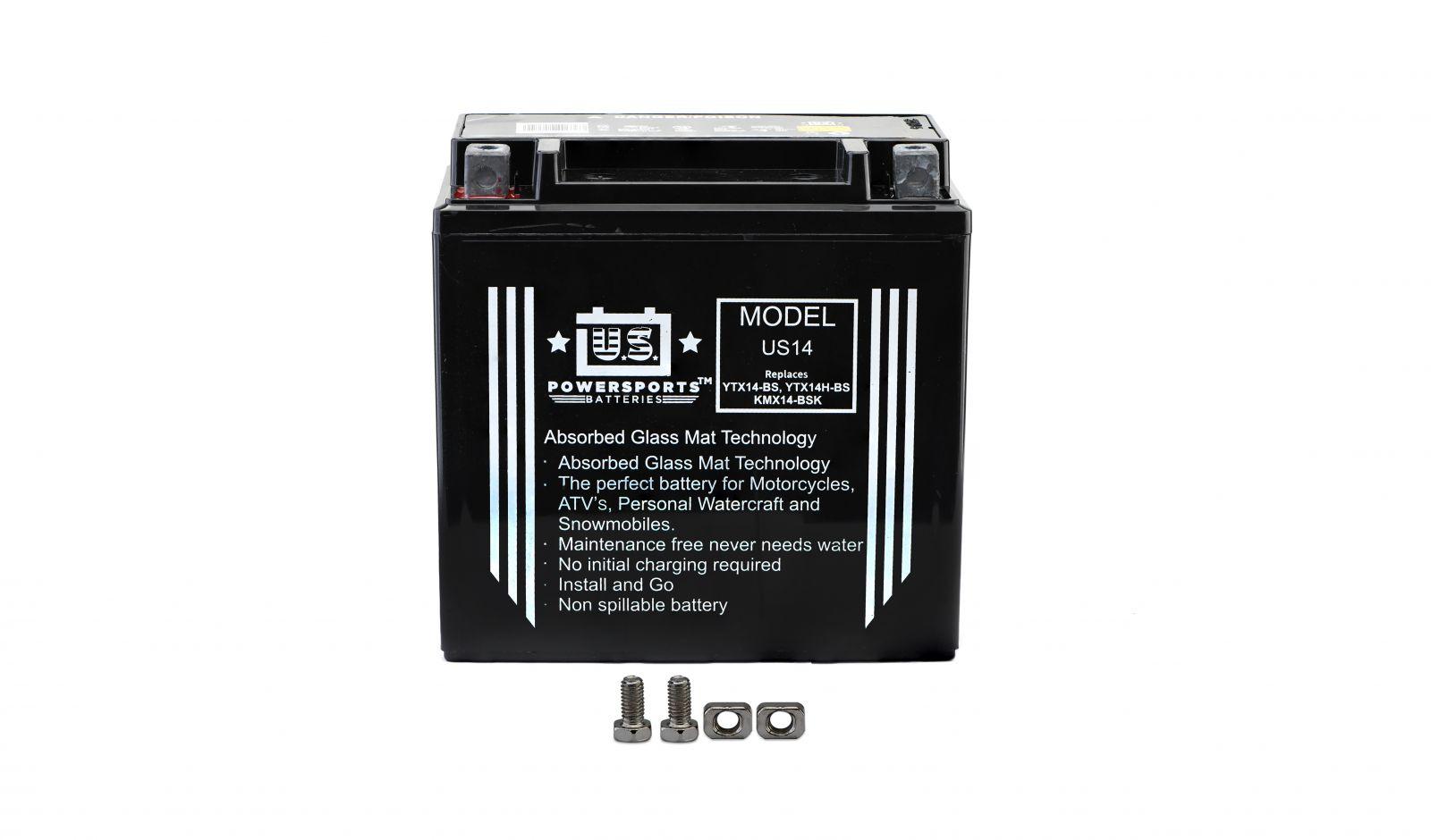 us powersports sealed battery - 501145U image
