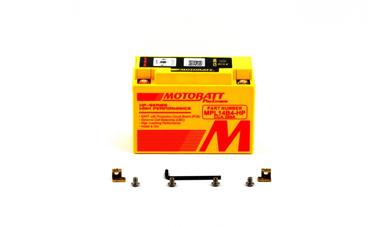 Motobatt Lithium Batteries - 501146MR image