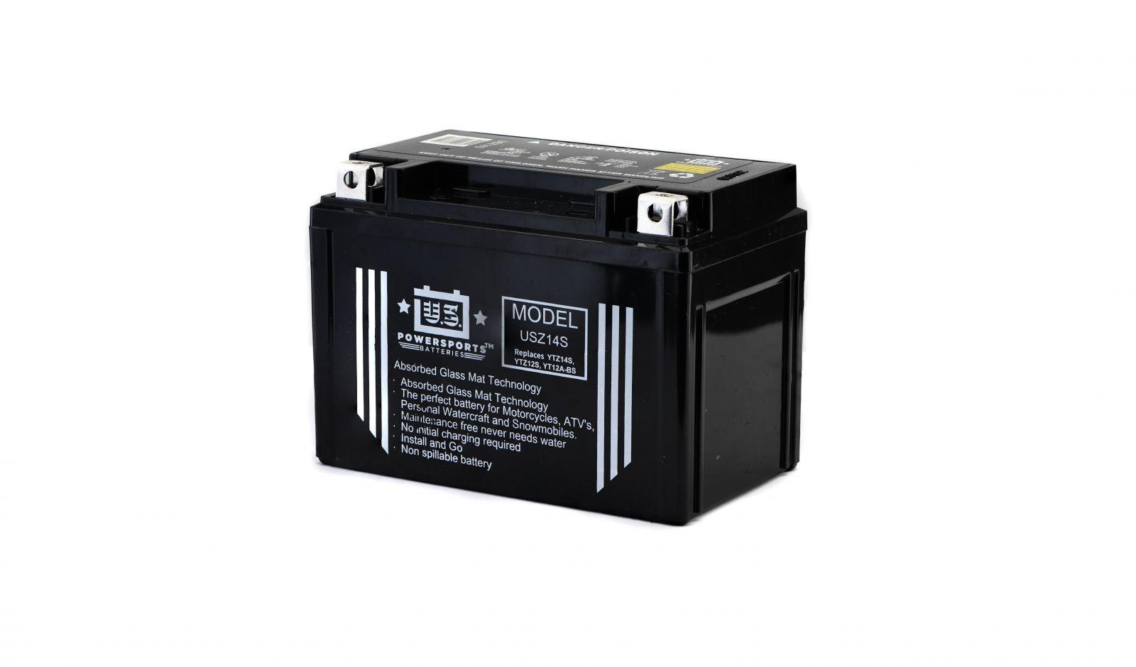 us powersports sealed battery - 501147U image