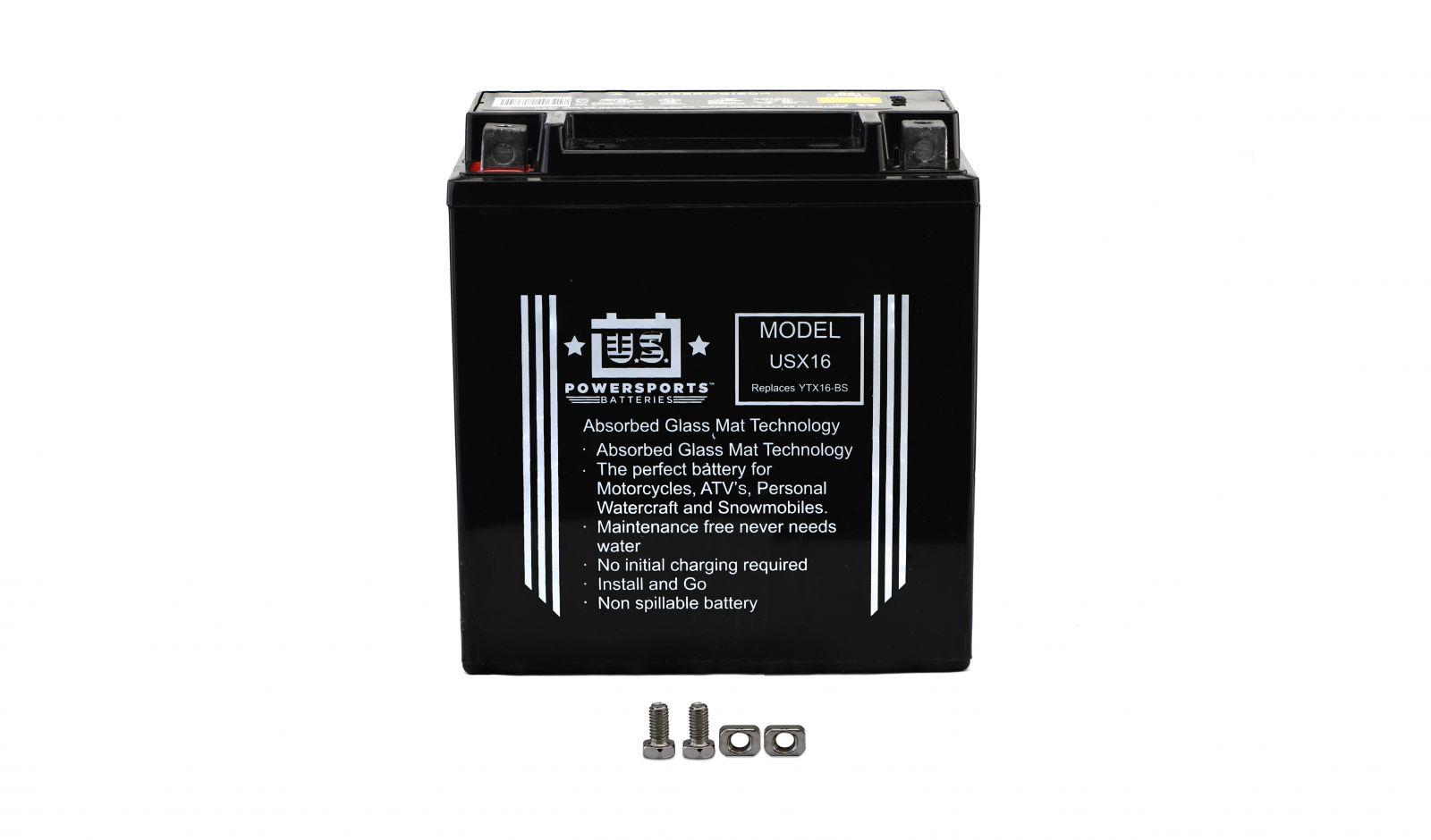 Us Powersports Sealed Battery - 501165U image
