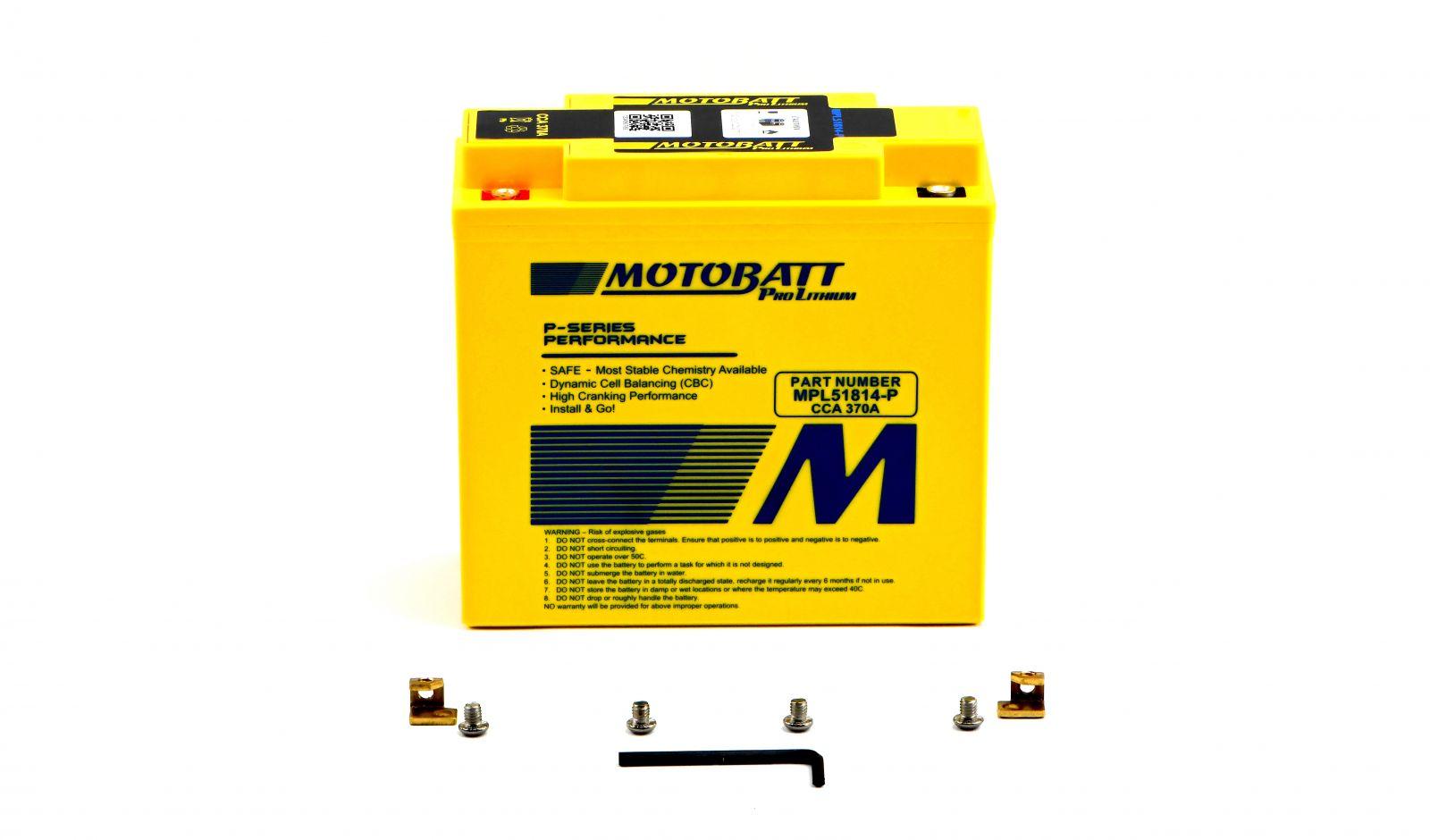 Motobatt Lithium Batteries - 501186ML image