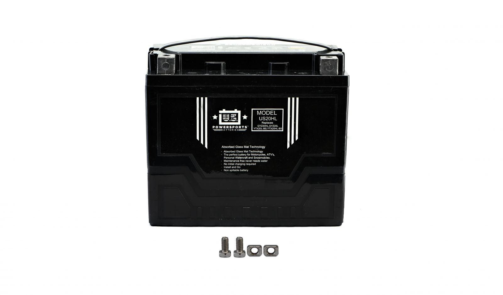 us powersports sealed battery - 501205U image