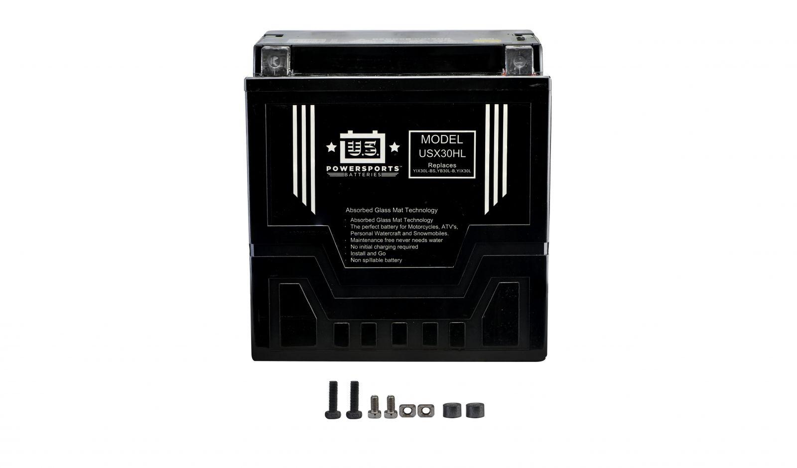 Us Powersports Sealed Battery - 501305U image
