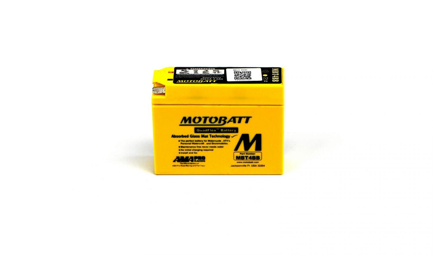 Motobatt Batteries - 501044MY image