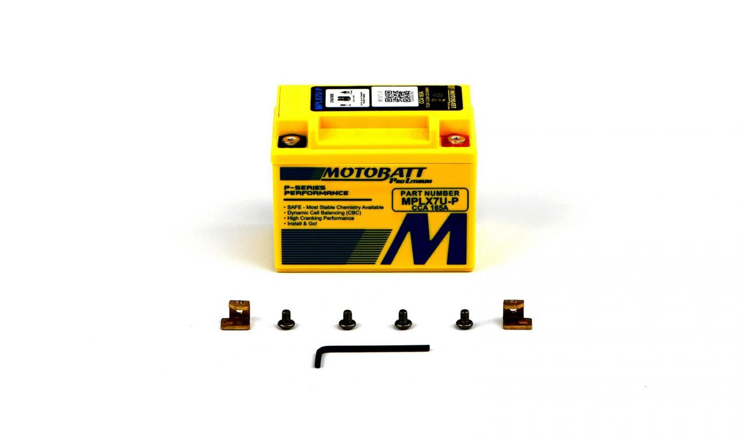 Motobatt Lithium Batteries - 501075ML image