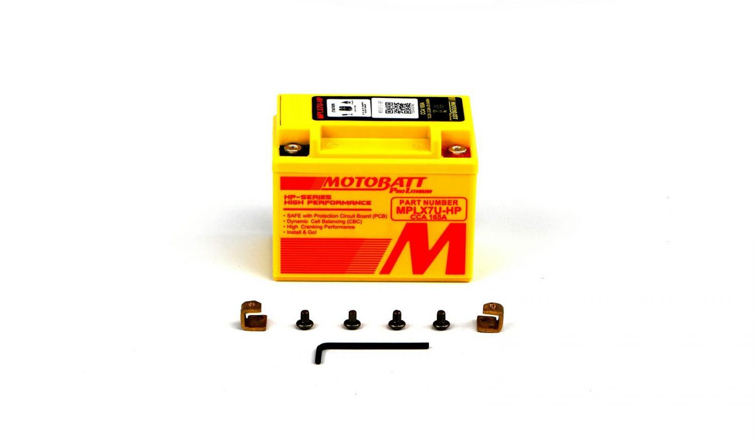 Motobatt Lithium Batteries - 501075MR image