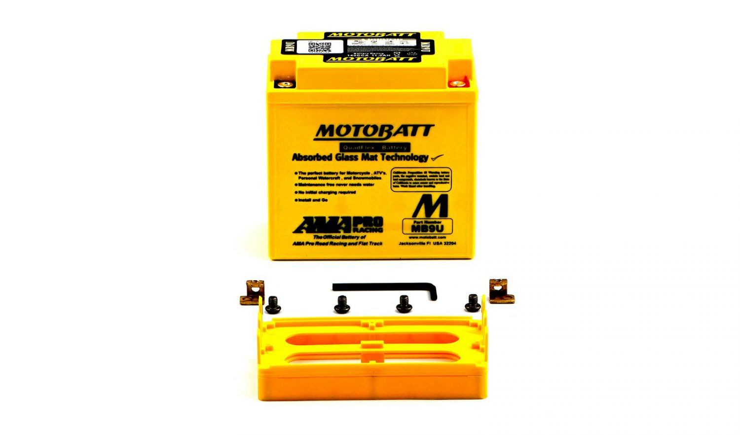 Motobatt Batteries - 501090MY image