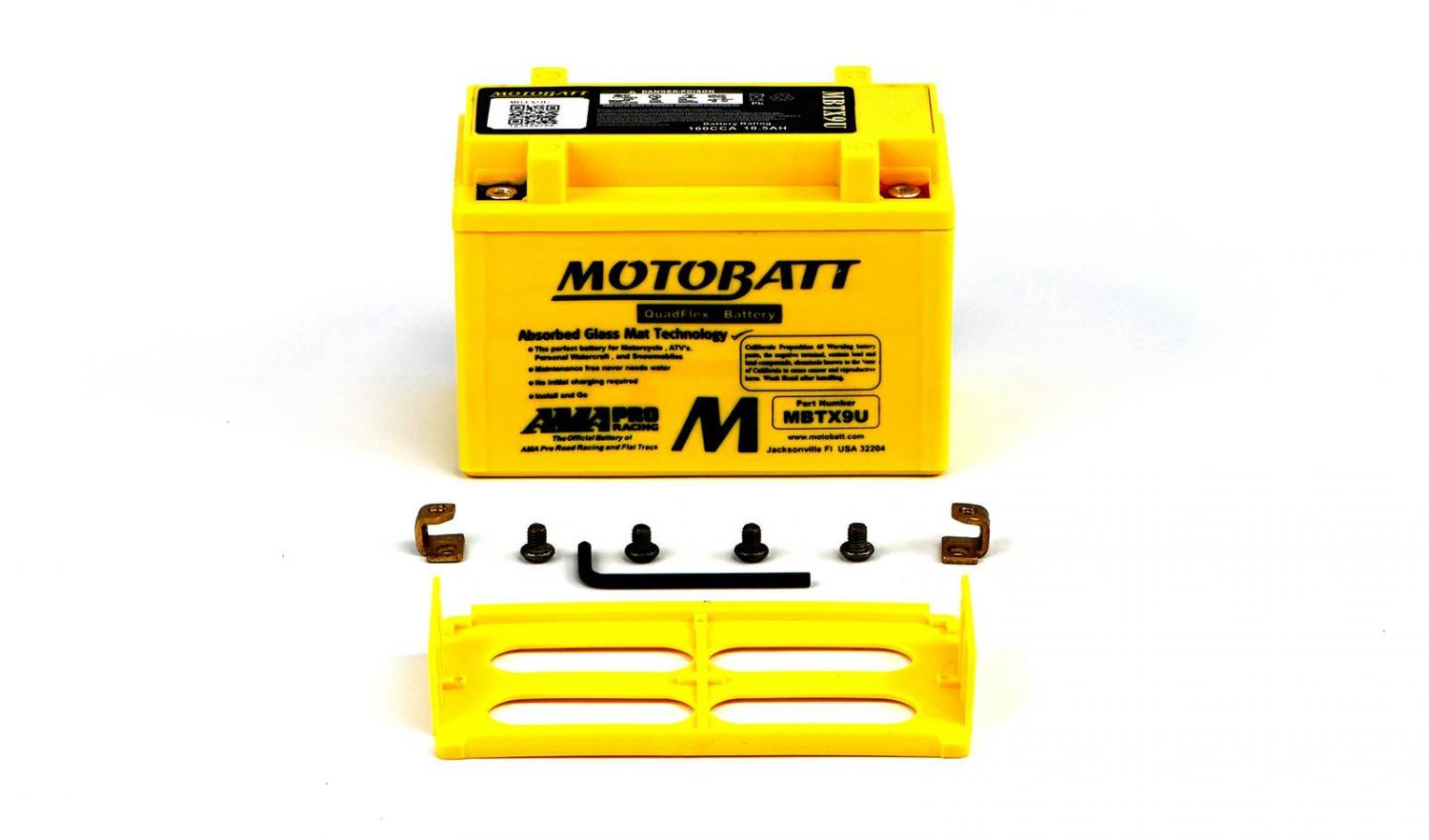Motobatt Batteries - 501095MY image