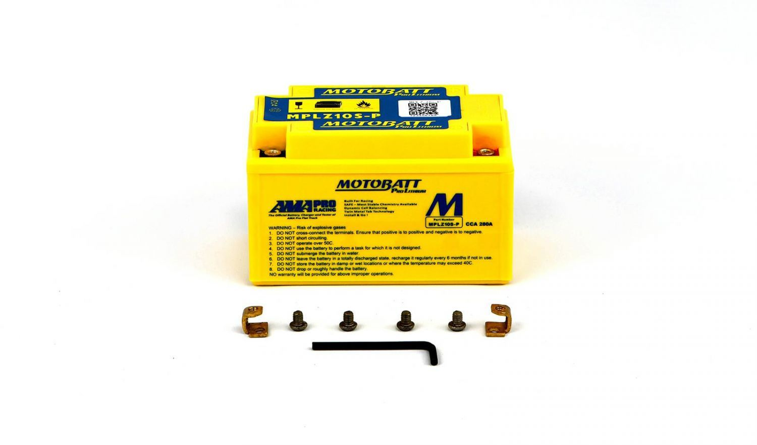 Motobatt Lithium Batteries - 501107ML image