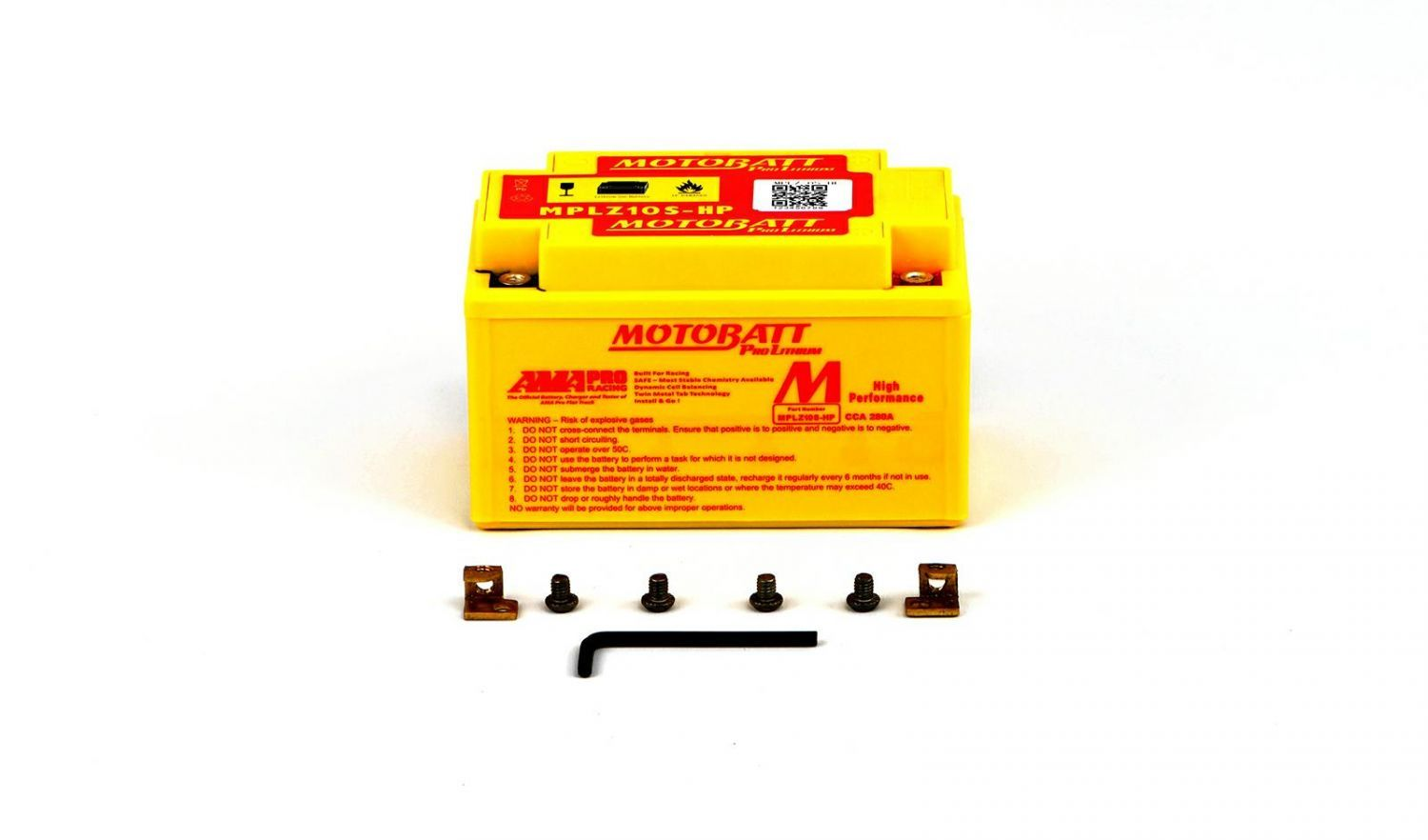 Motobatt Lithium Batteries - 501107MR image