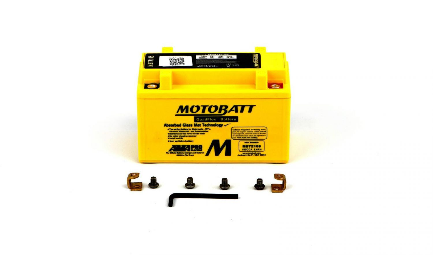 Motobatt Batteries - 501107MY image
