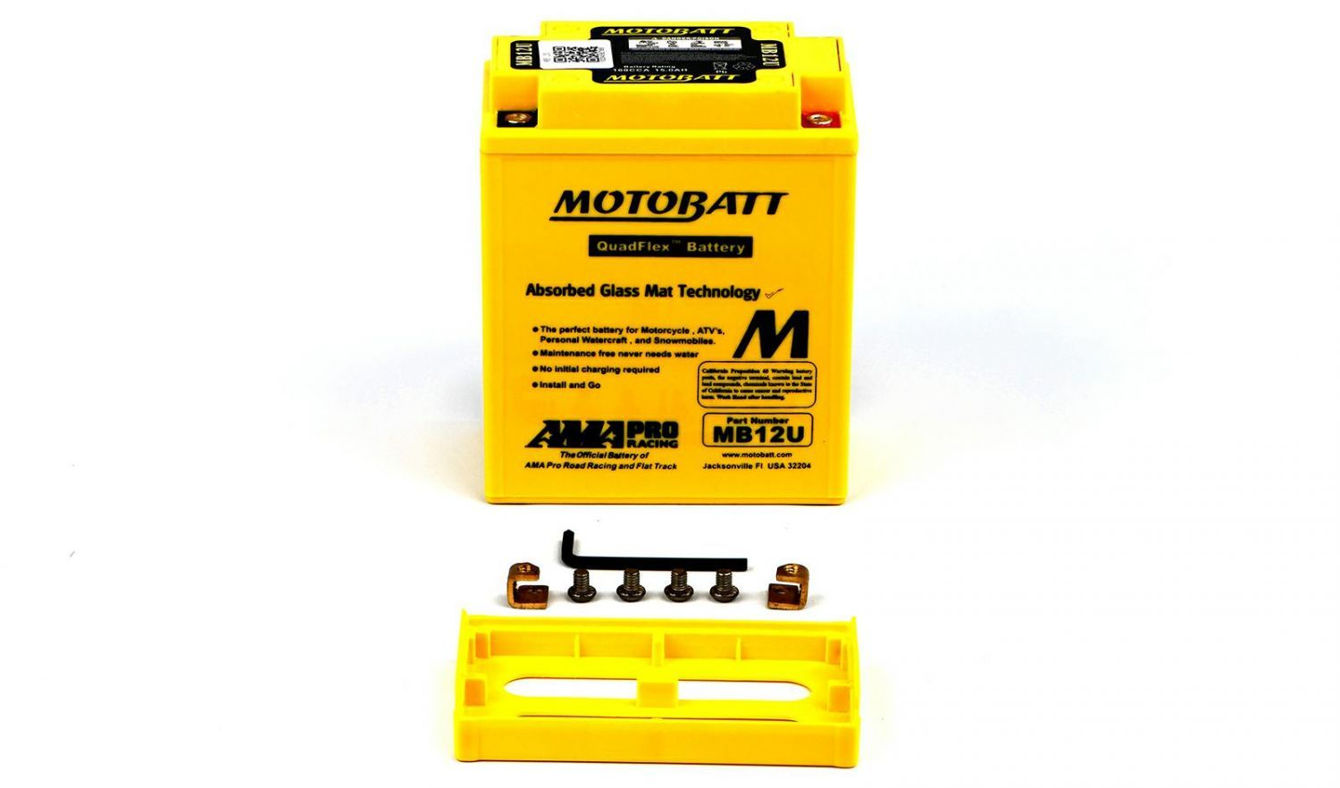 Motobatt Batteries - 501120MY image