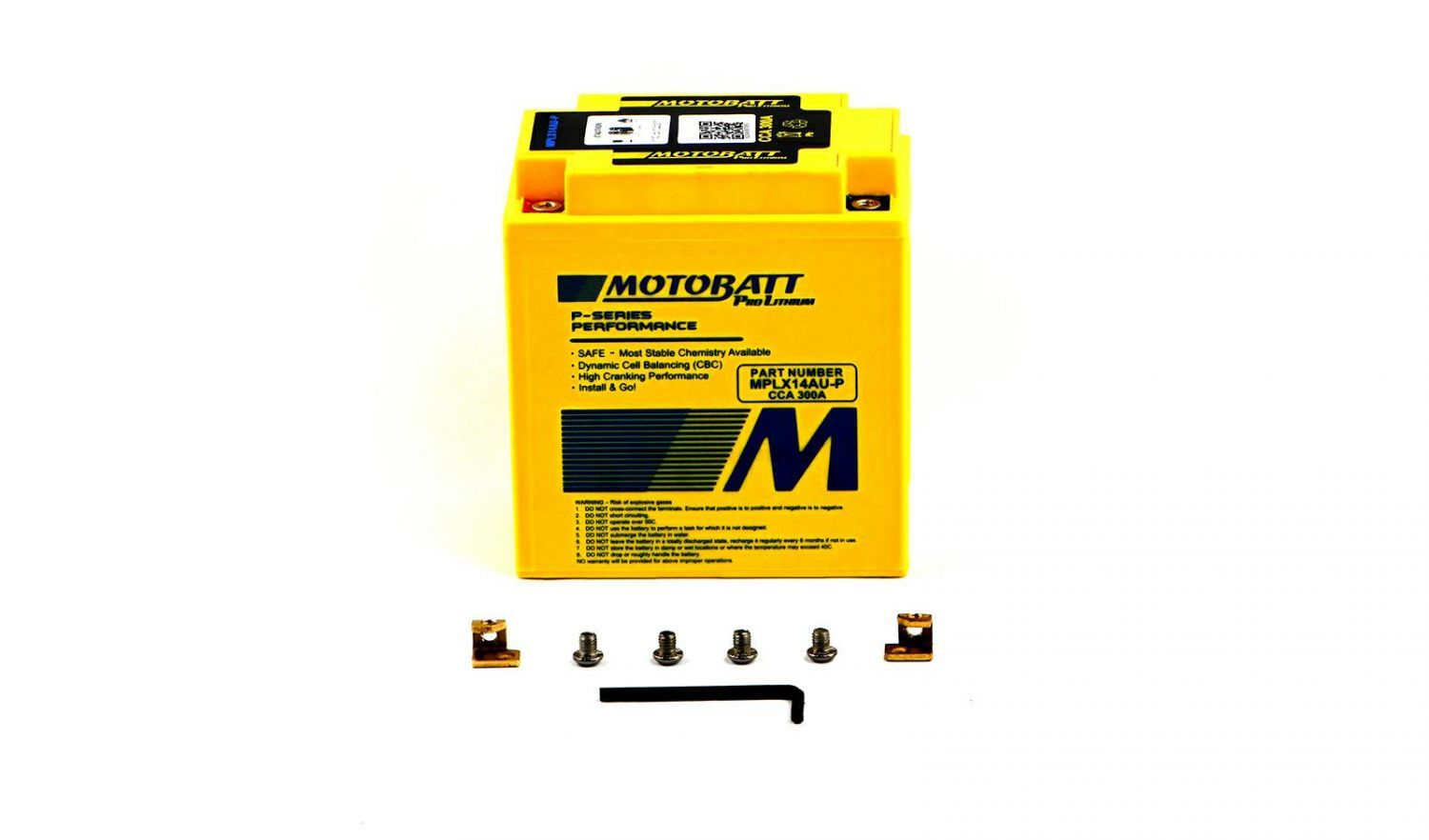 Motobatt Lithium Batteries - 501142ML image