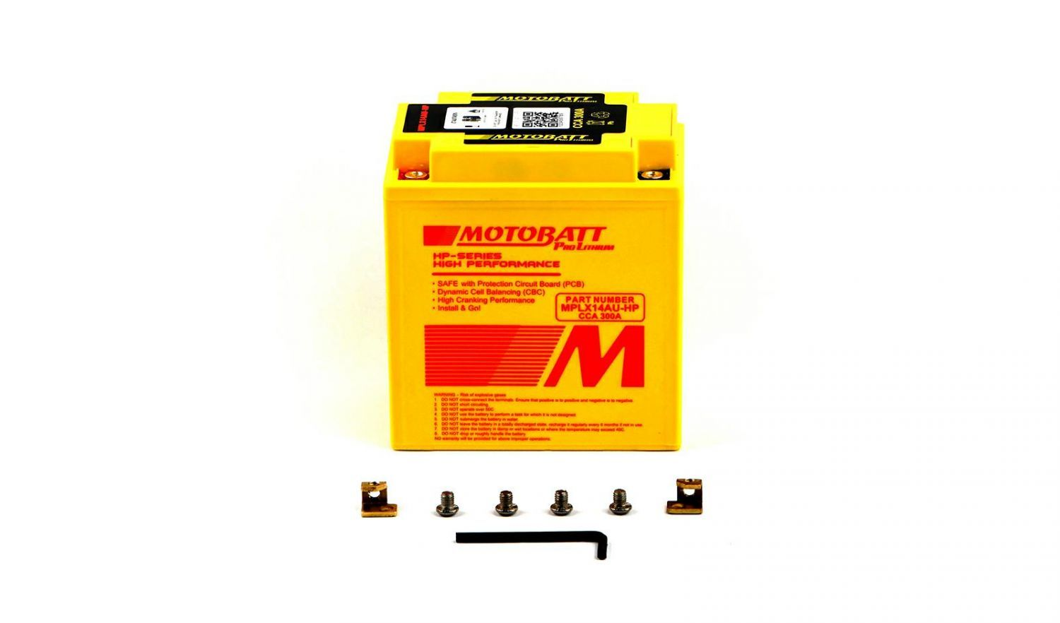 Motobatt Lithium Batteries - 501142MR image