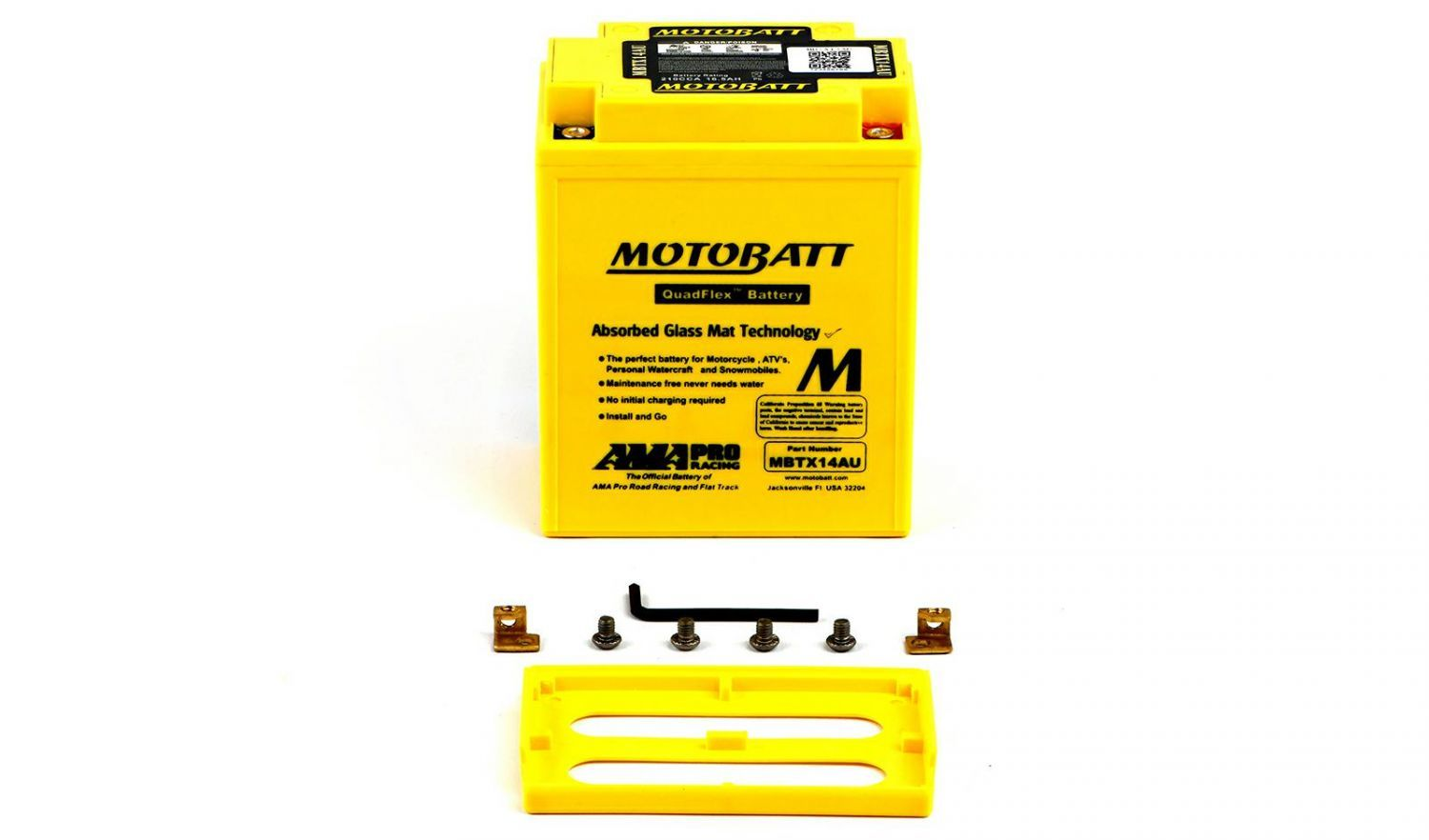 Motobatt Batteries - 501142MY image