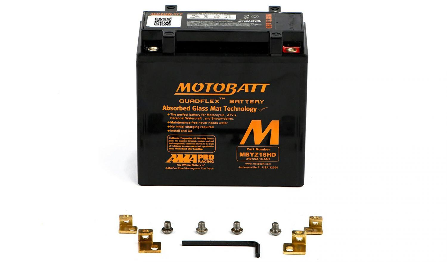 Motobatt Batteries - 501145MB image