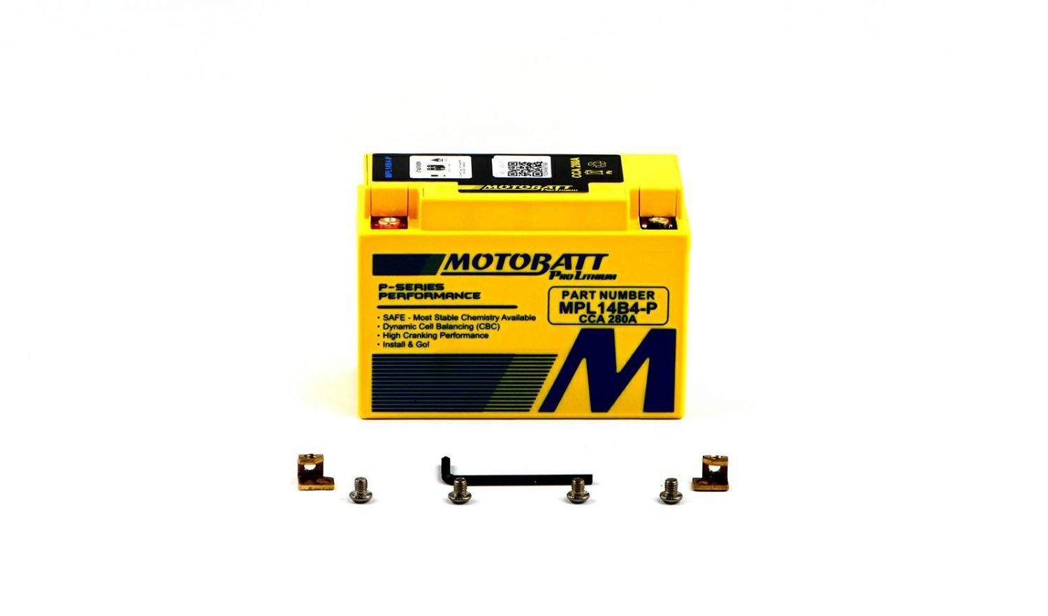 Motobatt Lithium Batteries - 501146ML image