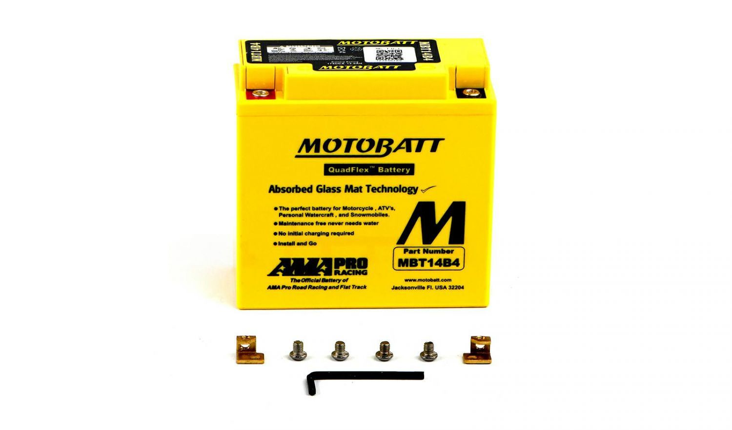 Motobatt Batteries - 501146MY image