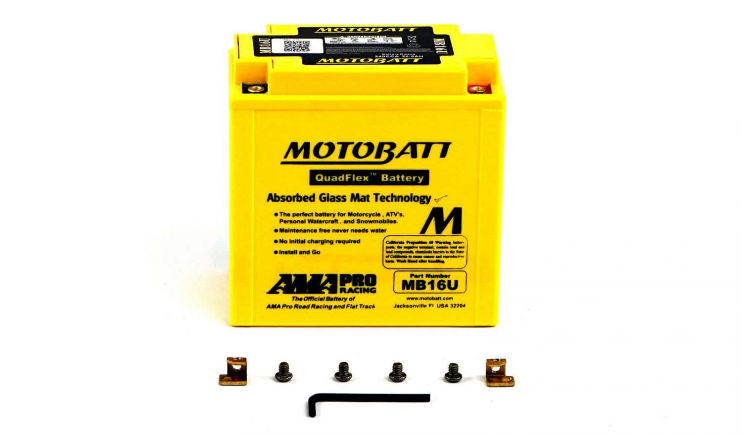 Motobatt Batteries - 501162MY image