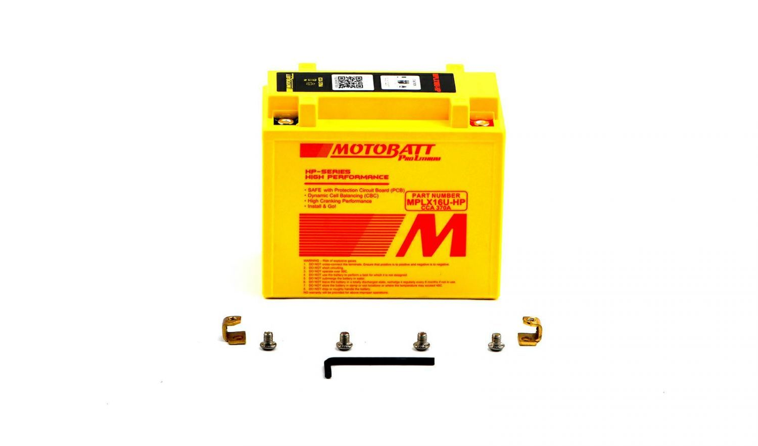 Motobatt Lithium Batteries - 501165MR image