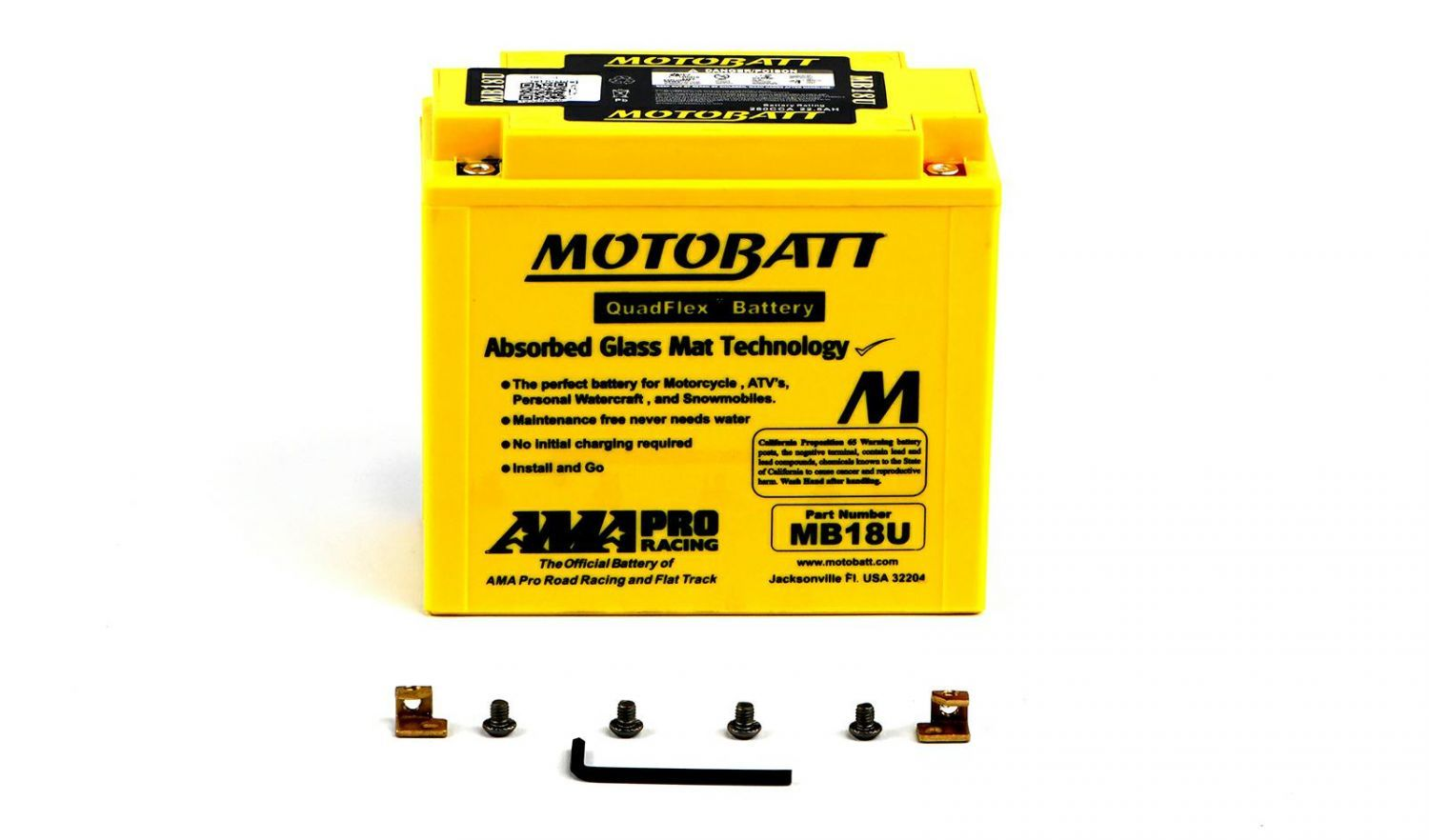 Motobatt Batteries - 501181MY image